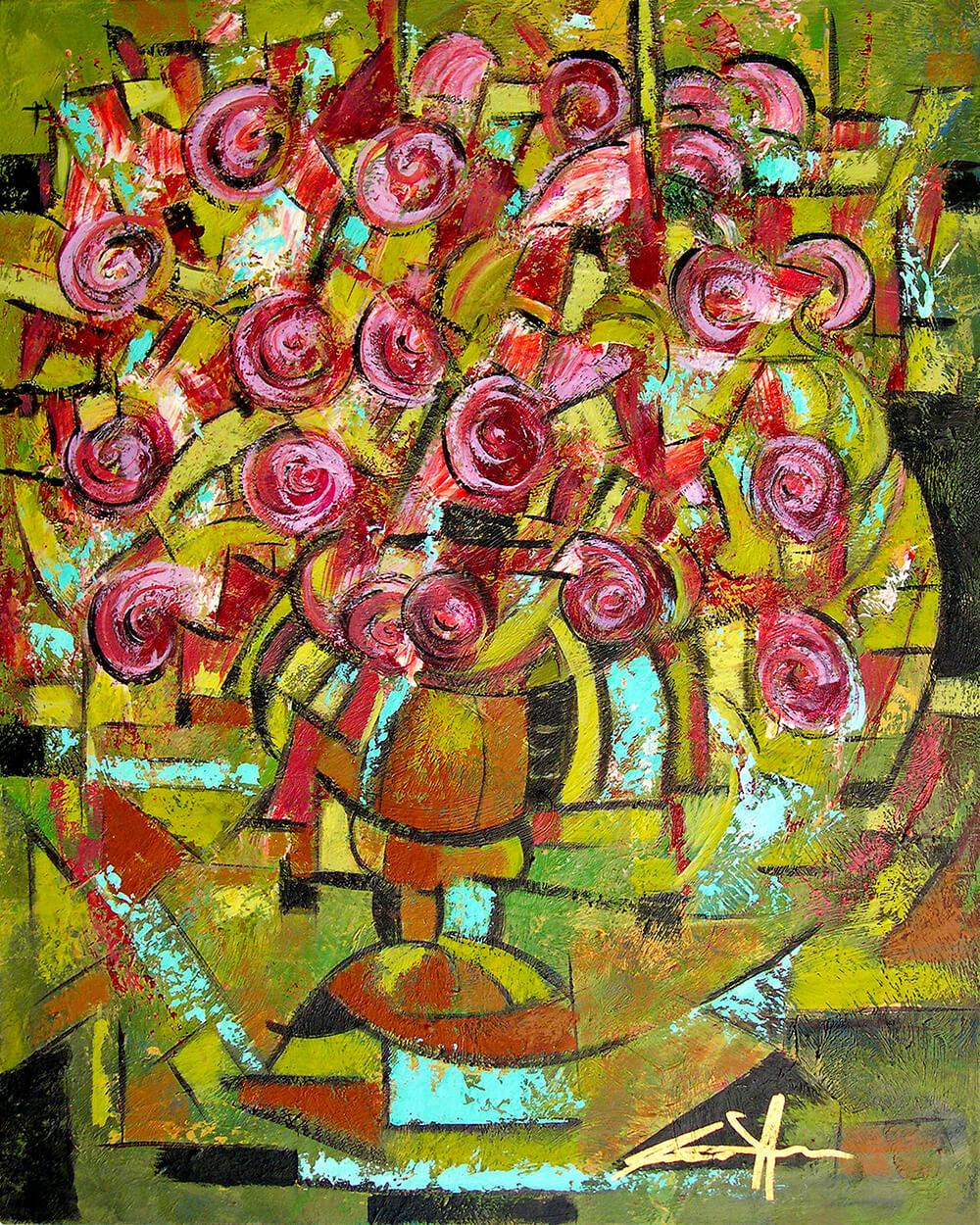 art-eric-j-hughes-artiste-peintre-canadien-tableau-catharsis-pot-aux-roses