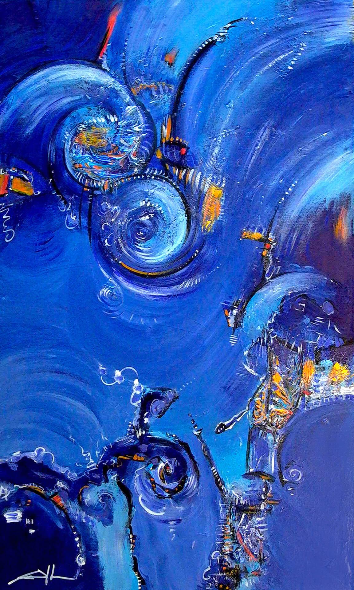art-eric-j-hughes-artiste-peintre-canadien-tableau-delirium-atteindre-l-indigo