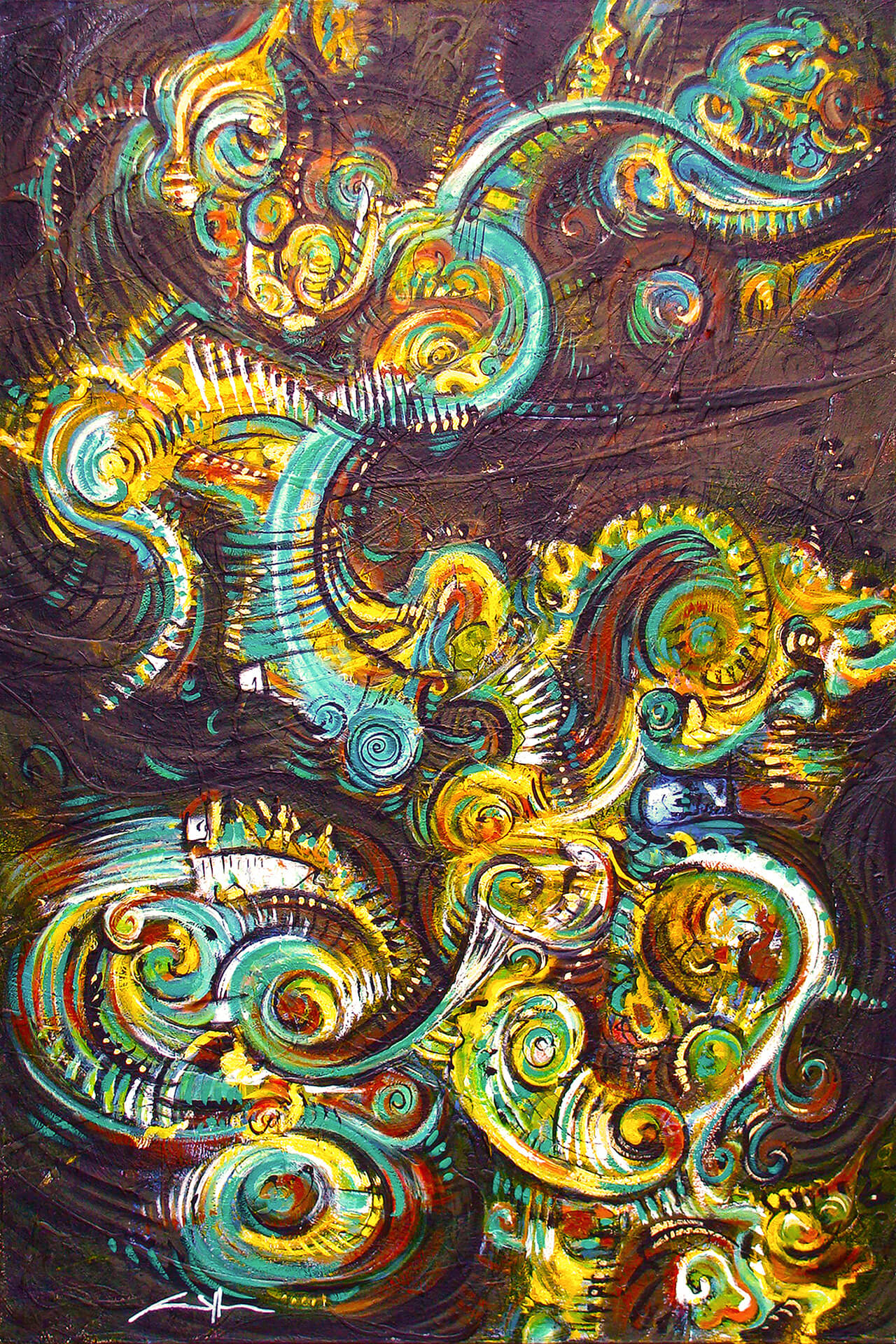 art-eric-j-hughes-artiste-peintre-canadien-tableau-delirium-cobrazilus