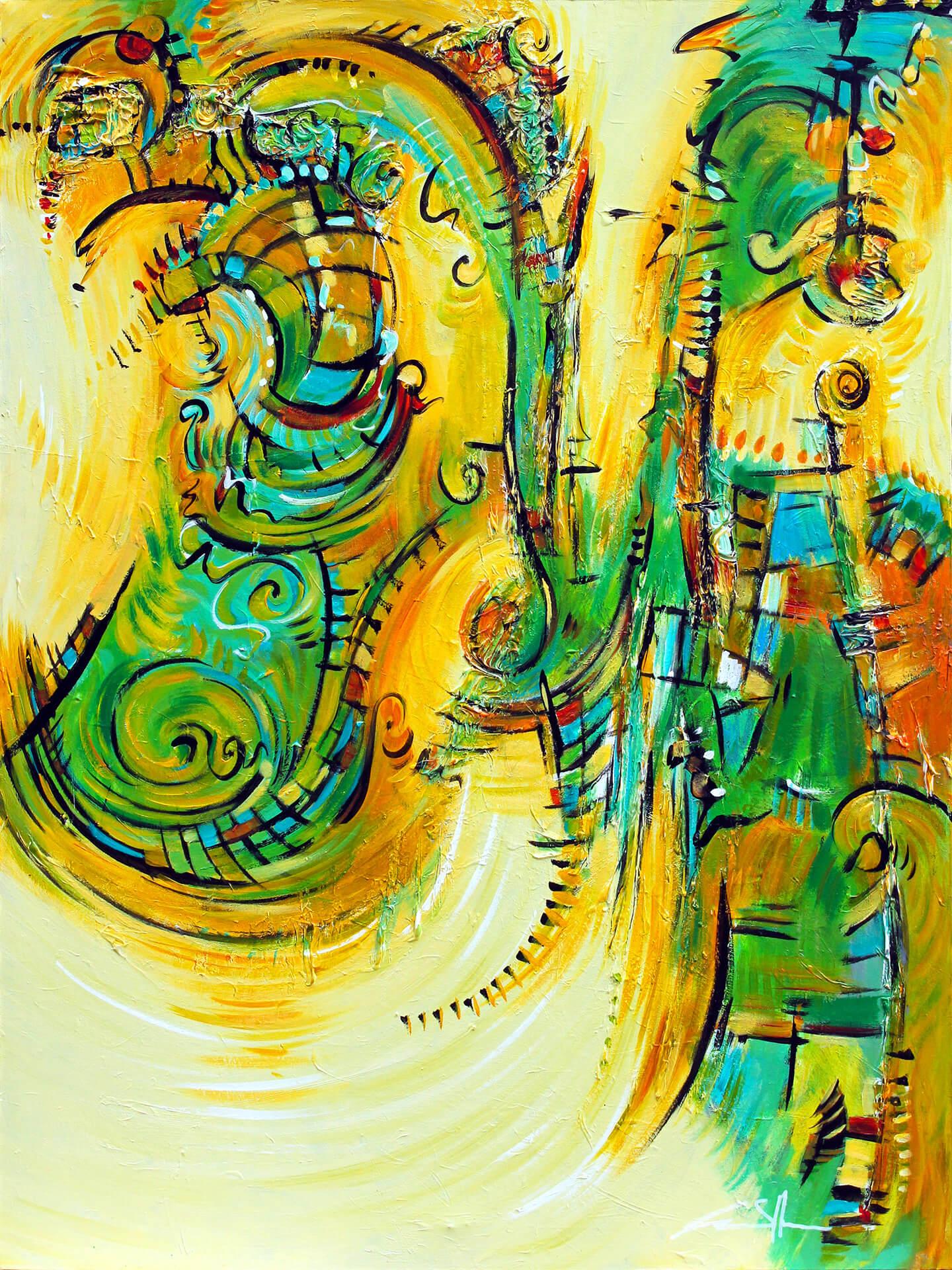art-eric-j-hughes-artiste-peintre-canadien-tableau-delirium-espace-ondulatoire