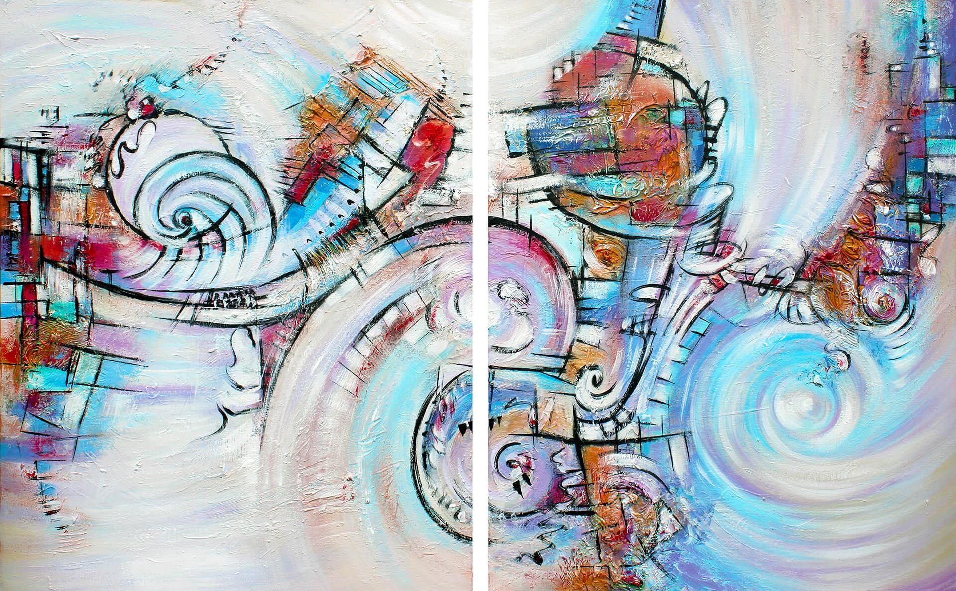 art-eric-j-hughes-artiste-peintre-canadien-tableau-symbiose-diptyque-osmose-ab