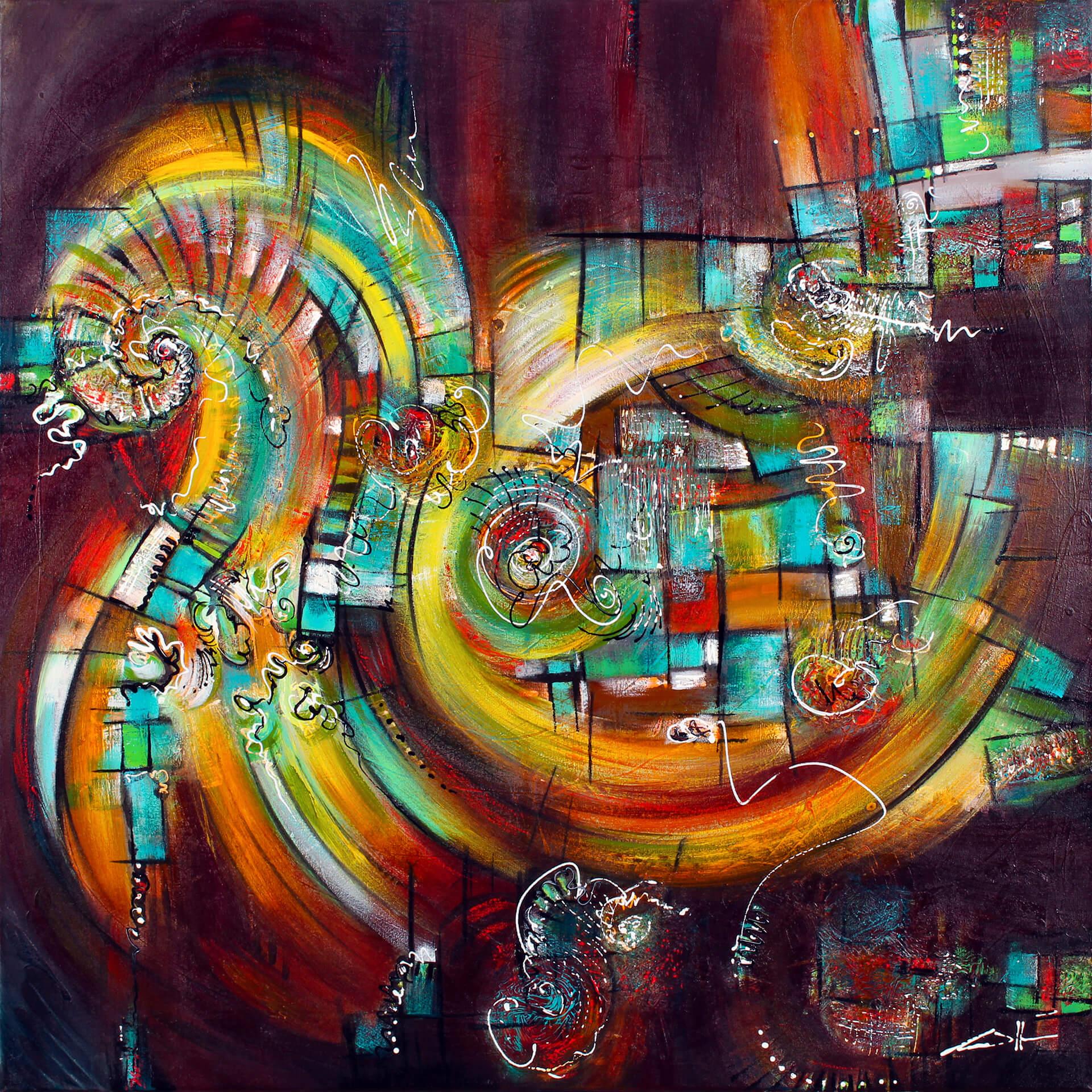 art-eric-j-hughes-artiste-peintre-canadien-tableau-symbiose-drakkar