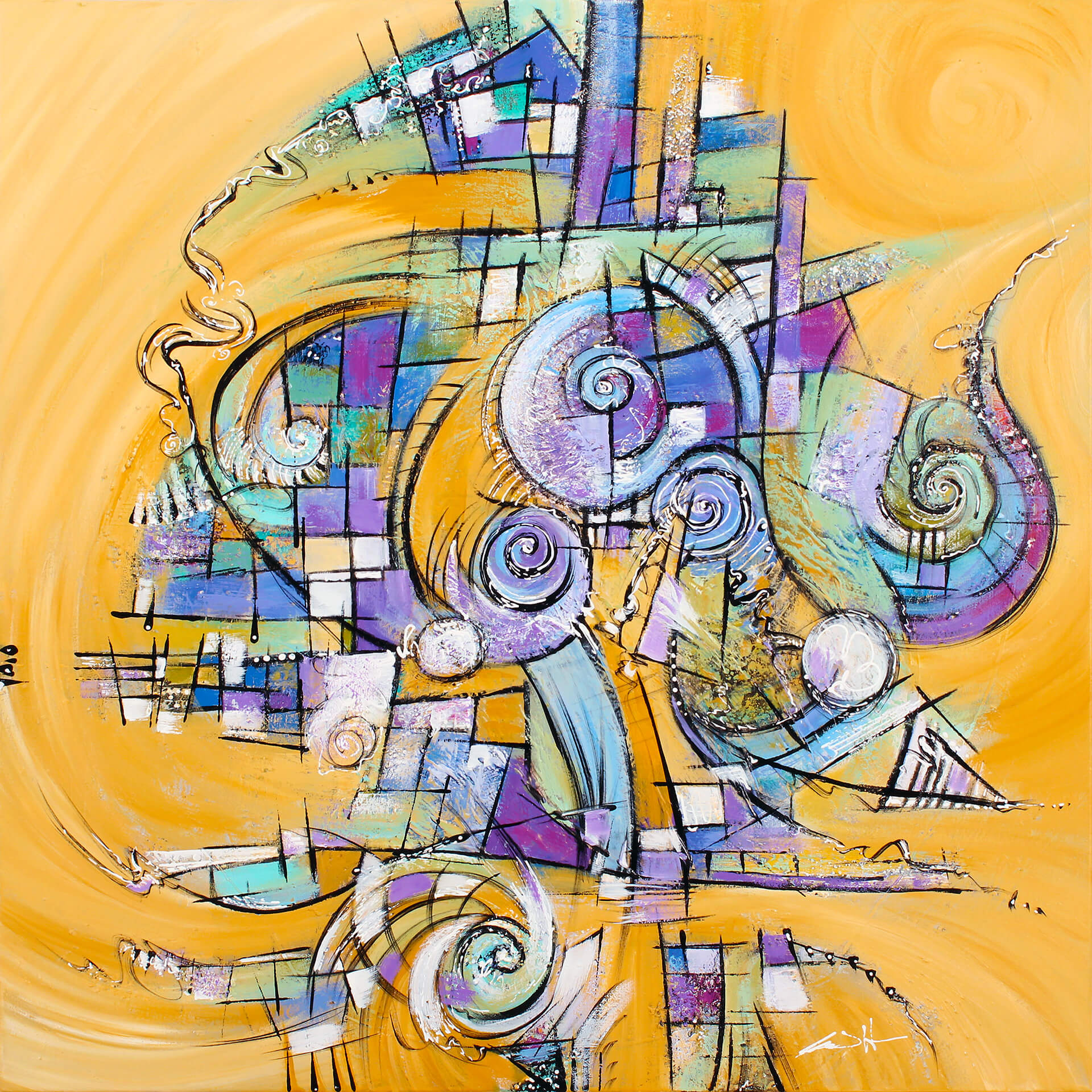 art-eric-j-hughes-artiste-peintre-canadien-tableau-symbiose-quoi-fur
